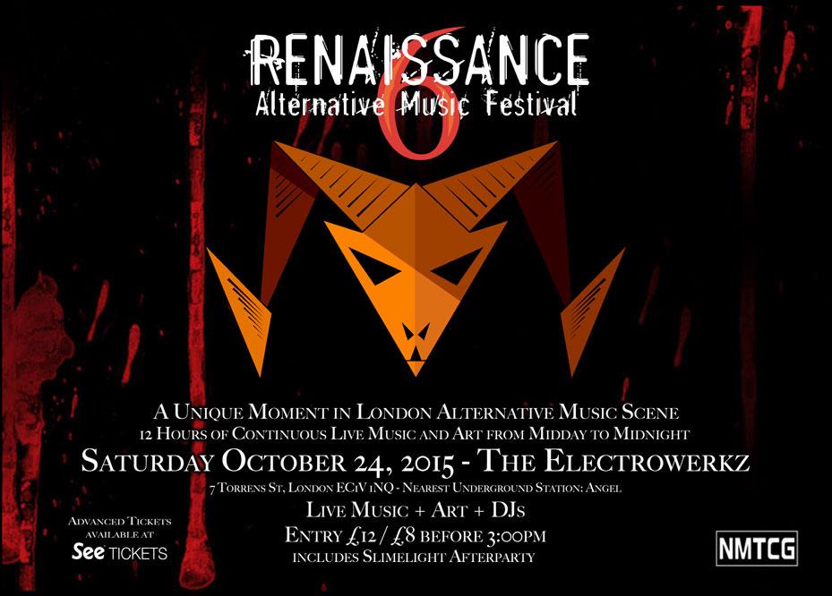 Renaissance Alternative Music Festival October 24, 2015